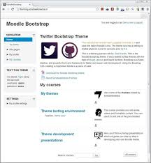 moodle theme api bootstrap theme in moodle best lms scoop it