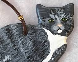 grey tabby cat etsy