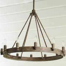 wooden wine barrel stave chandelier amazing craftsman teardrop