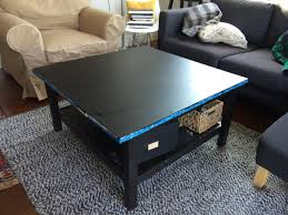 Ikea Hemnes Hacks by Picture Of Ikea Hack Coffee Table From Hemnes With And Without