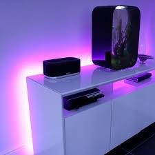 Purple Led Light Strips kasa bluetooth led light strip veho touch of modern