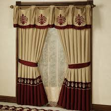 Drapery Clip Decoration Captivating Pink Accents Curtain For Bay Window High