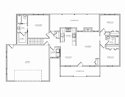 ranch style floor plans with basement 15 fresh gallery of rambler floor plans with walkout basement