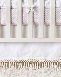 Bed Skirt For Crib Macramã Crib Skirt Crib Skirts Serena And