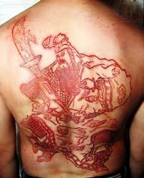 skin carving tattoos 24