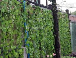 grape home decor high simulation large vines of grape vine leaves artificial silk