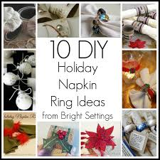 napkin ring ideas 10 diy napkin ring ideas the bright ideas