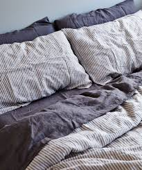 in bed stripe linen duvet set u2022crib u2022 pinterest linen duvet