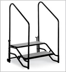 transfold portable stages midwest folding products
