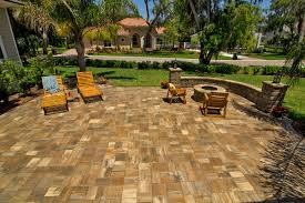stonehurst sierra pavers from tremron transform your backyard into
