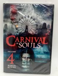 carnival of souls includes 4 bonus movies dvd 2016 new new