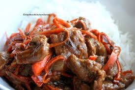 stir fried beef with hoisin sauce