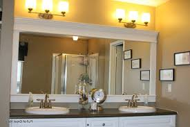 Unique Bathroom Mirror Frame Ideas Framed Bathroom Mirrors Ideas Unframed Oval Floating Bathroom