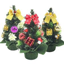small decorated trees promotion shop for promotional