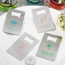wedding favors bottle opener personalized credit card bottle opener wedding favors