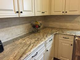Crosley Kitchen Cart Granite Top Granite Countertop Granite Kitchen Cabinets Painted Drawers