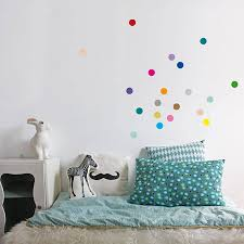 Wall Decals Patterns Color The by Personalisable Colour Dots Wall Stickers Set Of 40 Wall Sticker