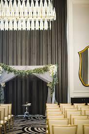elegant silver wedding at hotel monaco in pittsburgh u2014 fourteen