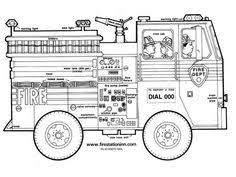 fire truck coloring enchantedlearning kids boys party