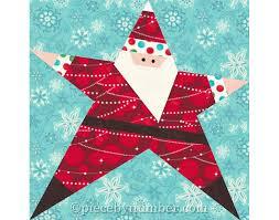 santa quilt pattern paper piecing quilt patterns christmas