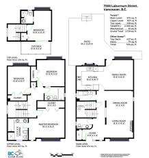 Bc Floor Plan Vancouver S Premiere Floor Planning Andy Yuen Coldwell Banker Premier Realty Sw Marine Houses