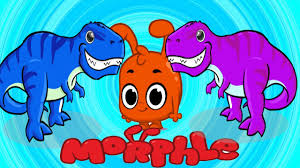 learn colors morphle u0026 dinosaurs for kids morphle animation for