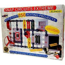 snap circuits xtreme science experiments kit sc 750 walmart com