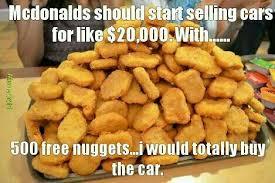 Chicken Nugget Meme - hmmmm nuggets meme by dragacy memedroid