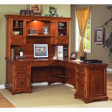 L Shaped Desks For Home Home Office L Shaped Desk With Hutch