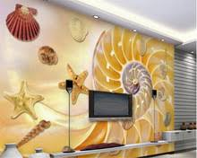 popular seashell wallpaper buy cheap seashell wallpaper lots from
