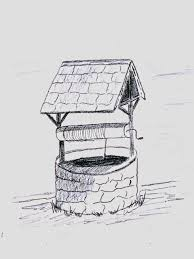 wishing well learning to draw