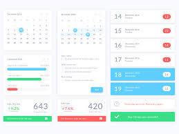 calendar ui elements sketch freebie download free resource for