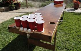 build a beer pong table wedding games to keep the guests entertained and the wedding spirit