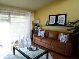 Curtains For Yellow Living Room Decor Yellow And Brown Living Room Decorating Ideas U2013 Modern House