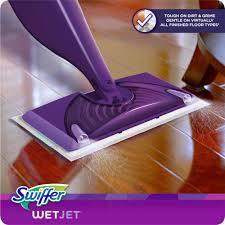 swiffer wetjet hardwood spray mop starter kit 11 pc walmart com