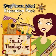 family thanksgiving expansion pack scrapbook max