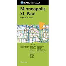 Minneapolis Metro Map by Minneapolis St Paul Regional Map