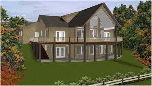 100 sloping lot modern house plans sloped lot slope styles