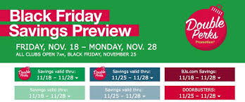 bj s wholesale club black friday savings preview