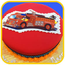 firetruck cakes truck cake the office cake
