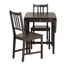 esszimmer tische und stã hle kleiner kuchentisch mit 2 stuhlen ingatorp stefan tisch und 2 sta