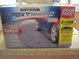 Rust Oleum Epoxyshield Basement Floor Coating by Amaretto Metallic Garage Floor Kit Case Of 2 Wonderful Garage