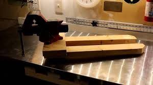 removable bench vise mount system youtube