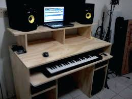 home studio desk plans home recording studio desk style home
