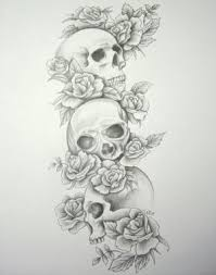 amazing of combination with skull