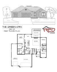 Custom Home Floorplans by Red Custom Home Builder Lincoln Ne