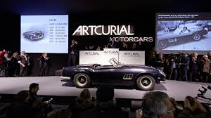Ferrari California 1961 - 2015 ten most expensive cars sold at public auction august