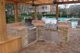 Covered Outdoor Kitchen Plans by Caballero Contractors U0026 Design Deck U0026 Outdoor Projets