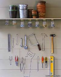 garage and shed organizing ideas martha stewart tool wall
