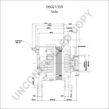 66021309 alternator product details prestolite leece neville